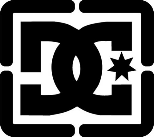 DC Shoe Logo Sticker