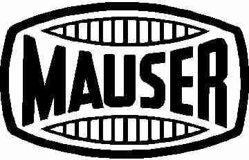 Mauser Sticker Logo - Click Image to Close