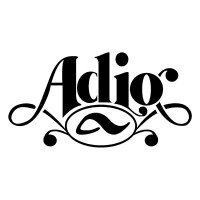 Adio Logo Sticker Decal - Click Image to Close