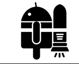 Android Rocket Sticker