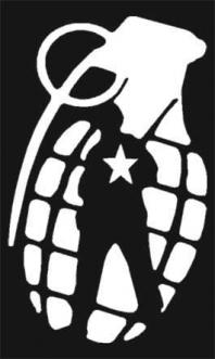 Army Grenade Sticker - Click Image to Close