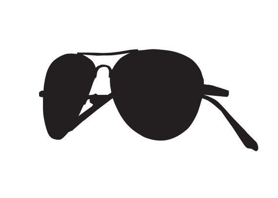 Aviator Sunglasses stickers