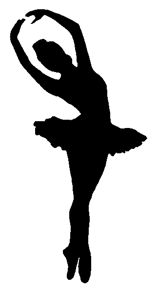 Ballet Dancer Ballerina Sticker Decal