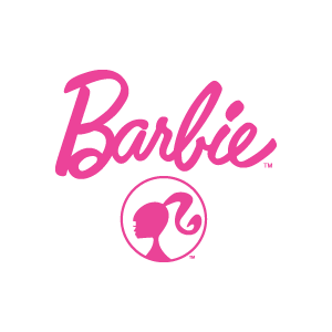 Barbie Brand And Girl Sticker