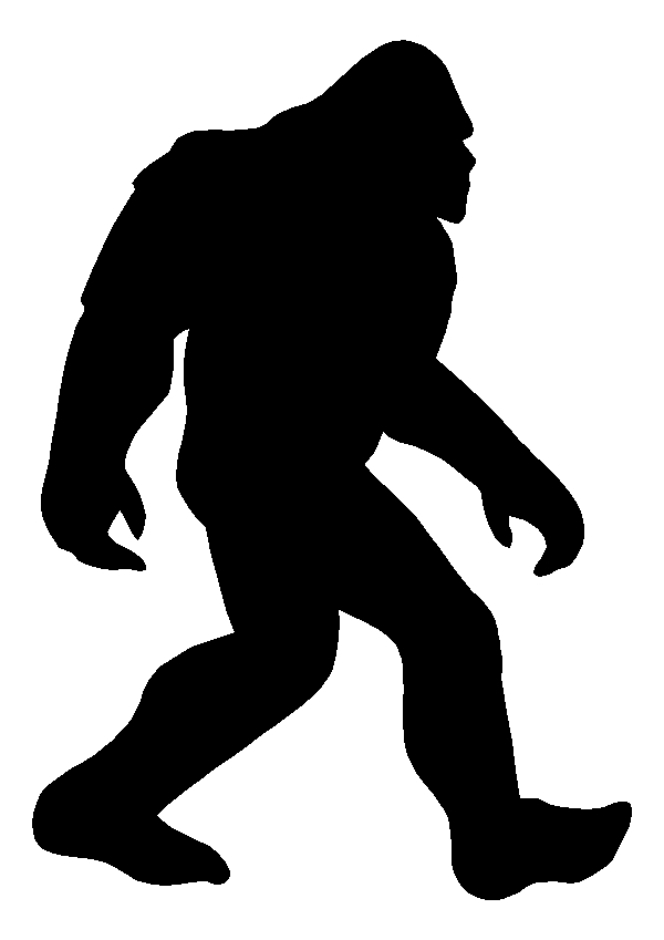 Bigfoot Sasquatch Sticker Decal