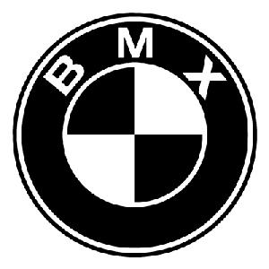 BMX BMW Sticker