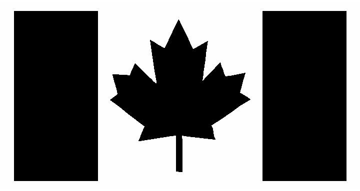 Canada Canadian Flag Window Sticker Decal