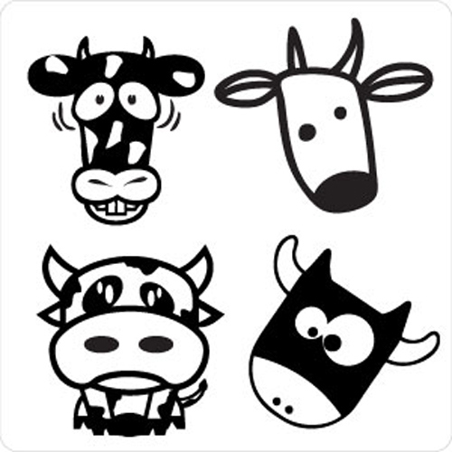 Cow Sticker Pack