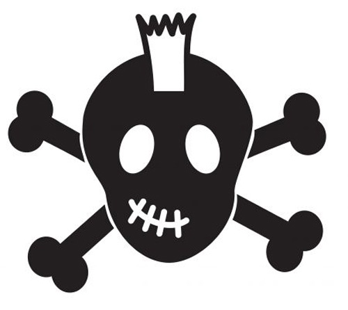 Cute Boy Skull And Crossbones