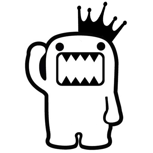 Domo King Sticker
