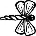 Dragonfly Sticker - Click Image to Close