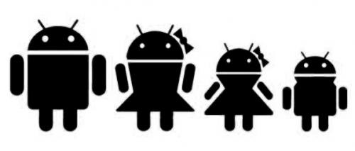 Android Family Sticker