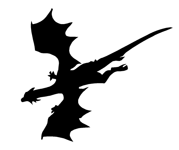 Flying Dragon Sticker Decal