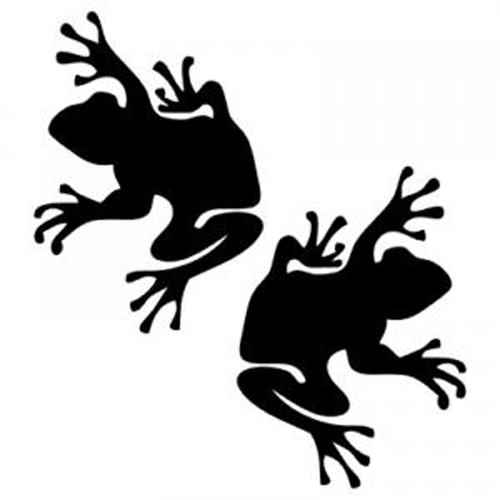 Frog Set Sticker