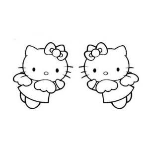 43b4abaaf Hello Kitty Angel Sticker [hello-kitty-angels] - $3.00 ...