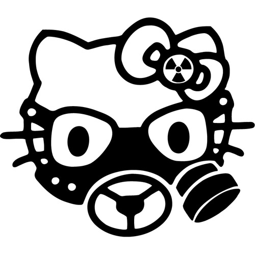 Hello Kitty Gasmask