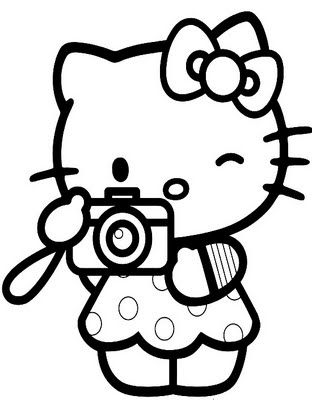 Hello Kitty Picture Sticker