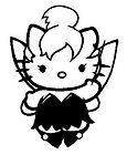 Hello Kitty Tinkerbell Sticker