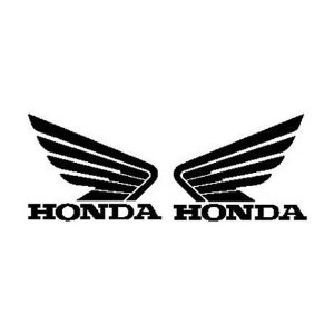 Honda Wings Logo Sticker