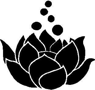 Lotus Flower Sticker Decal