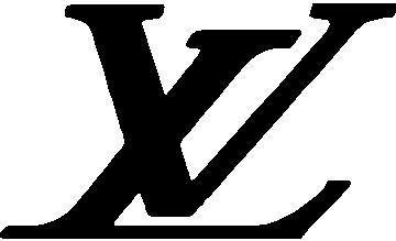 Louis Vuitton LV Logo Sticker