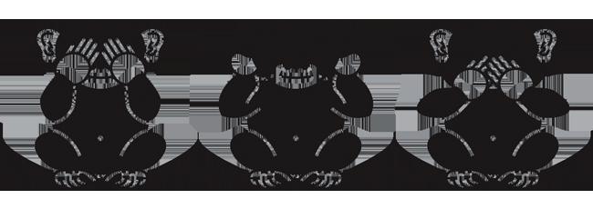 Monkey seehear or speak no evil sticker