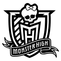 Monster High School Crest Sticker