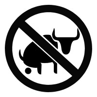 No Bull Sh!t Sticker Decal