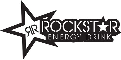 Rockstar Energy Drink -Lg Star Sticker