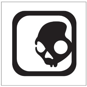 Skull Candy Logo Sticker