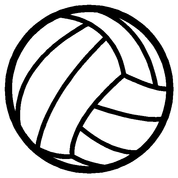 Volleyball Ball Sticker Decal