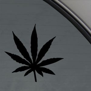 Marijuana Weed Pot Herb Sticker Decal